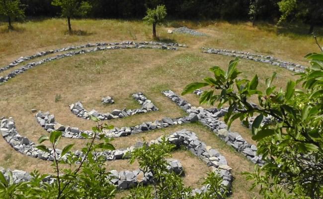 vystaba labyrintu v roce 2015